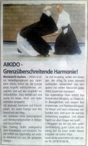 Aikido-Plombières-Anzeige-Wochenspiegel