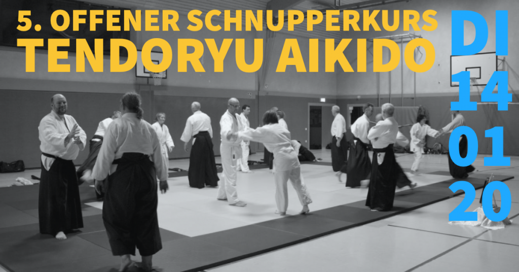 Schnupperkurs Tendoryu Aikido