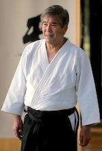 Shimizu Sensei, Begründer der japanischen Kampfkunst Aikido